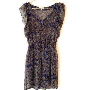 🌻 LUSH polka dot mini multi-colored dress - S